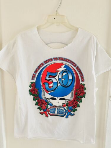 Vintage Greatful Dead T-shirt / Cut Of