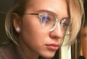 Vintage-Glasses-Frame-Men-Women-Round-Frame-Clear-Lens-Multicolor-Spectacle