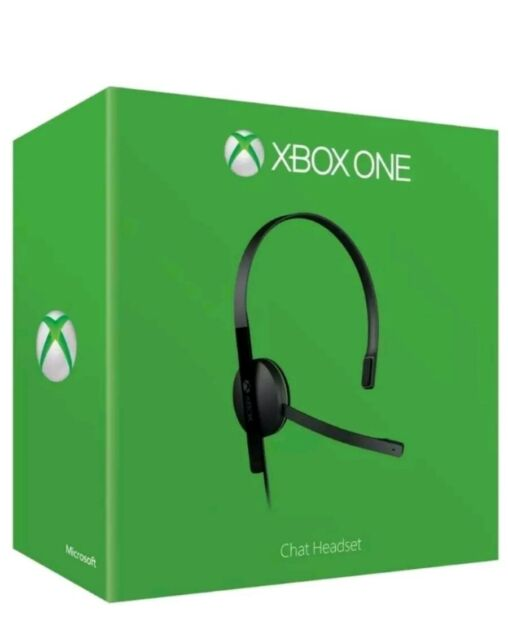 BRAND NEW Official Xbox One Chat Headset. Boxed!ONLY  £14.99! Tracked! Boxed!NEW