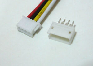 JST-ZH-1-5mm-4-Pin-Male-Connector-wire-15cm-Female-Header-for-RC-Hobby-Servo-x10
