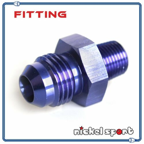 4AN AN4 to 1//8/'/' NPT Straight Aluminum Fitting Adapter