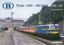NicolasCollection 978-2-930748-33-7 BUCH SNCB NMBS Type160 Reeks/Série16 Neu+OVP