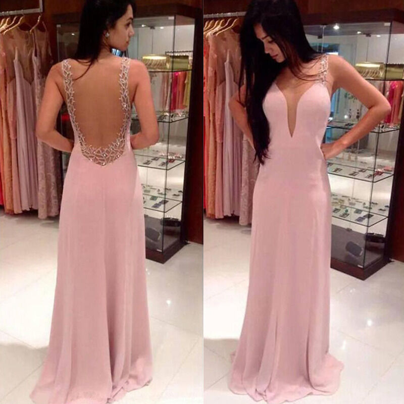 2017 Girls Womans Evening Party Formal Bridesmaid Cocktail Long