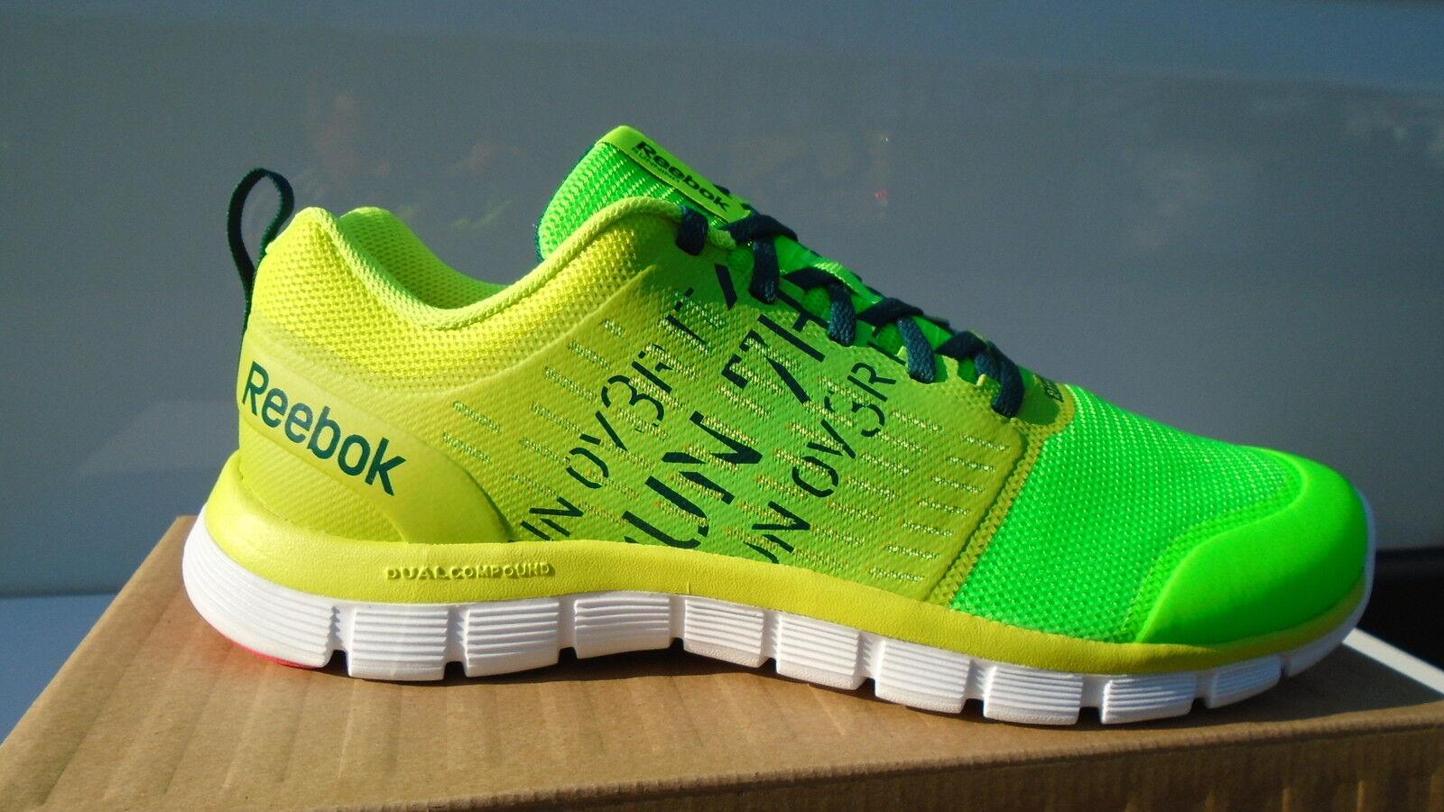 Reebok gelb Running Schuhe Laufschuhe Sneaker Fitness Sportschuhe Dual Rush NEU