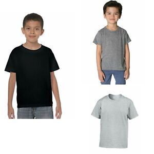 Unisex-Kids-Childrens-Plain-T-Shirt-T-shirt-Tee-Shirt
