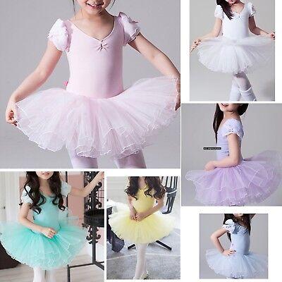 Responsible Vestito Tutù Saggio Danza Bambina Girl Ballet Tutu Dress Danc102 Moderate Cost Girls