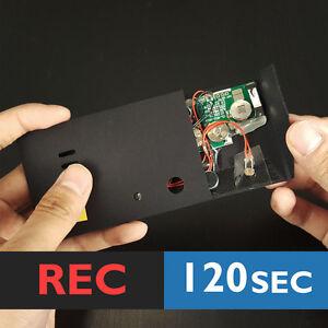 Grabable-Adhesiva-120s-Negro-El-sensor-de-luz-Modulo-de-voz-chip-de-Caja-de-Musica-Musical