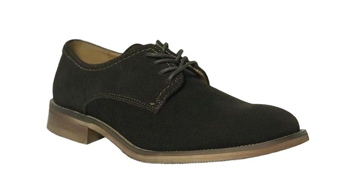 fino al 42% di sconto La Milano Uomo Uomo Uomo Dark Marrone Suede Oxfords Casual scarpe Formal Lace Up A11328  negozio all'ingrosso