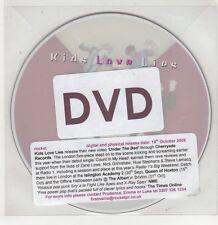 (GU162) Kids Love Lies, Under The Bed - 2009 DJ DVD