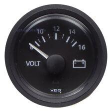 VDO Viewline Voltmeter 8-16V (126.705/126.807)