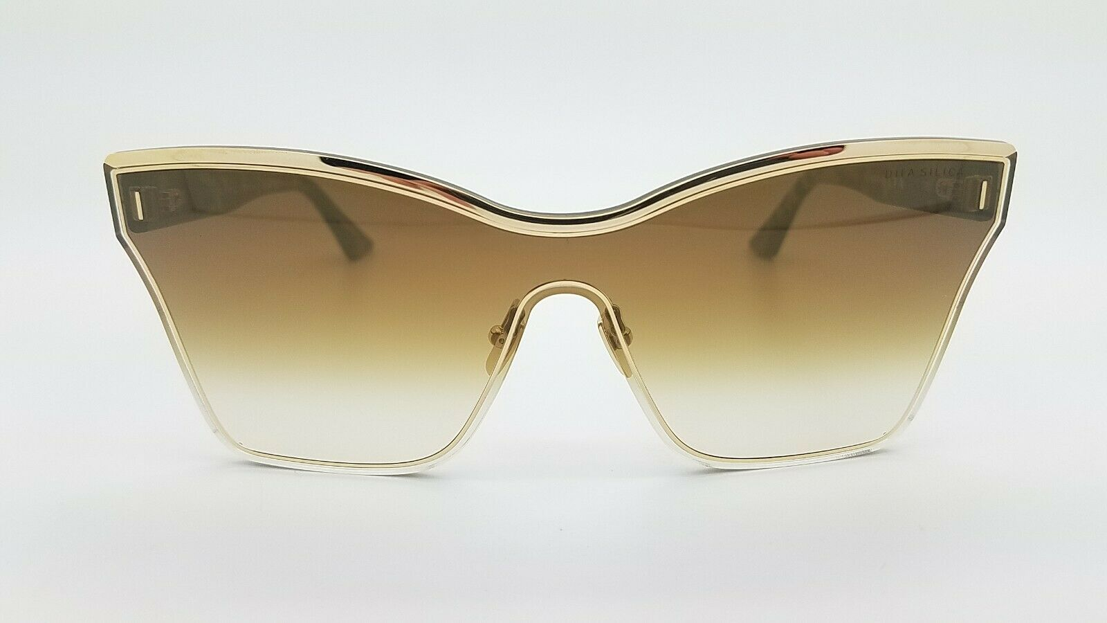Details about  /DITA SILICA AUTHENTIC DTS508-01-GLD-TKT; Gold Tortoise w// Brown-Gld Flash Lens
