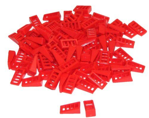 Baukästen & Konstruktion Lego Lot Of 100 Neu Rot Hang 18 2 X 1 X 2/3 With 4 Slots Stücke Teile Stücke