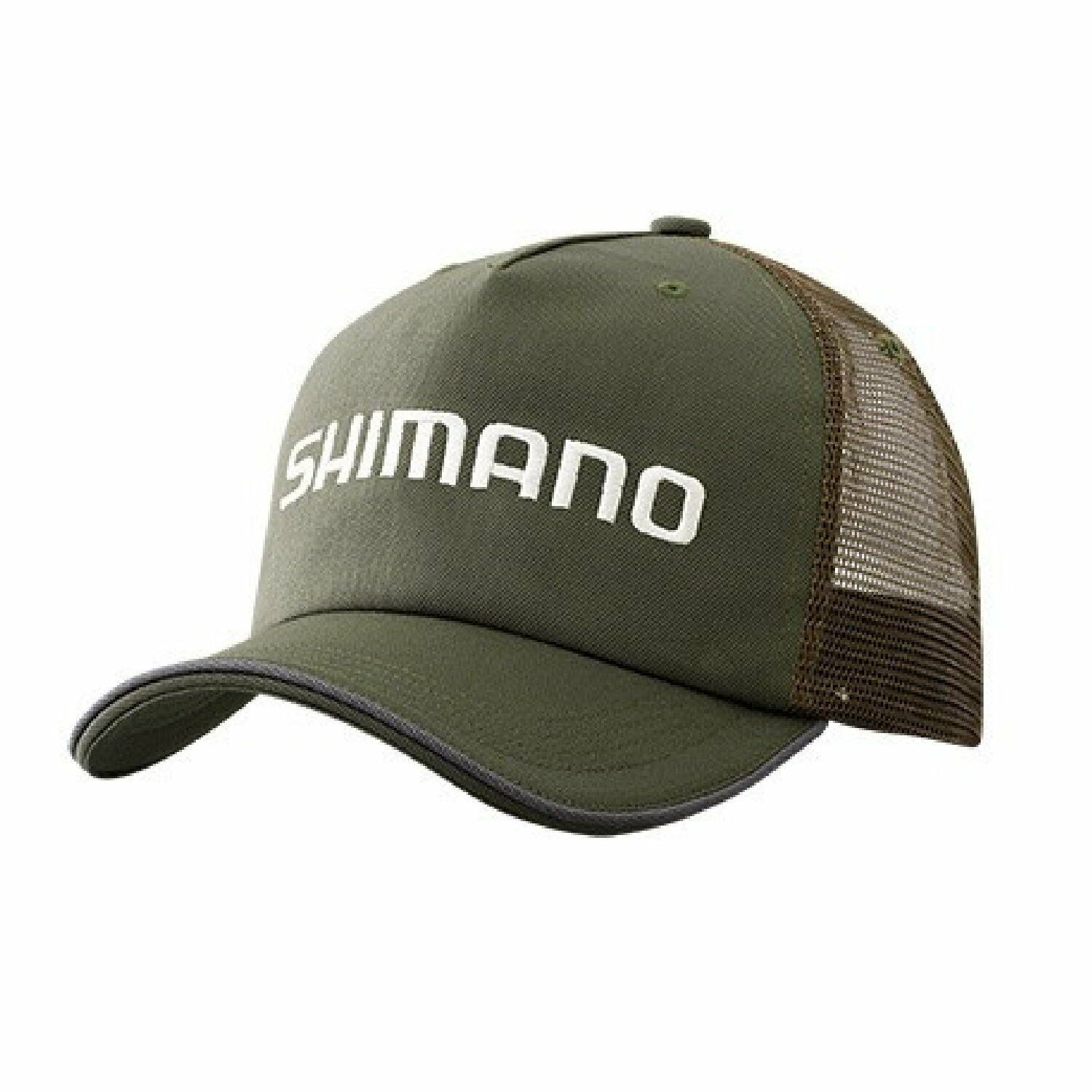 SHIuomoO Steard Mesh Fishing Cap CA042R KHAKI gratuito Dimensione Adjustable Japan nuovo