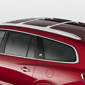 2008 2017 Buick Enclave Gm Roof Rack Cross Rails Bright