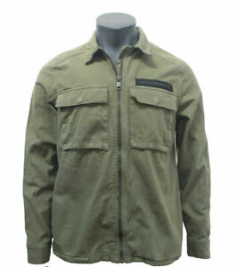 EX-ZARA-NEW-MEN-039-S-DENIM-JACKET-KHAKI-CODE-M-39-H-210