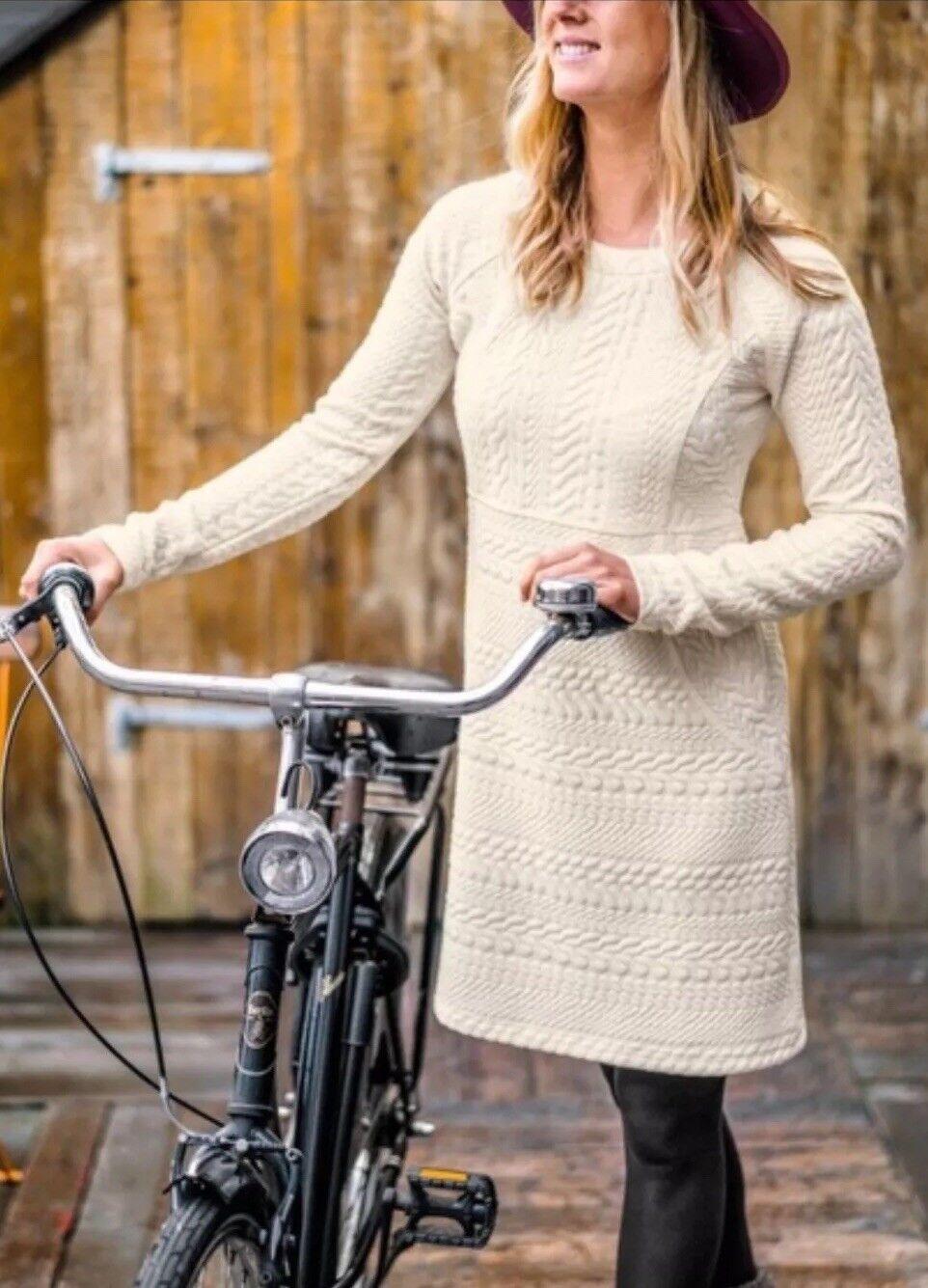 NWT PrAna Macee Ivory Knit Dress - Small Small Small 41f847