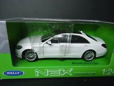Welly Mercedes Benz S-Class 2014 White 1/24