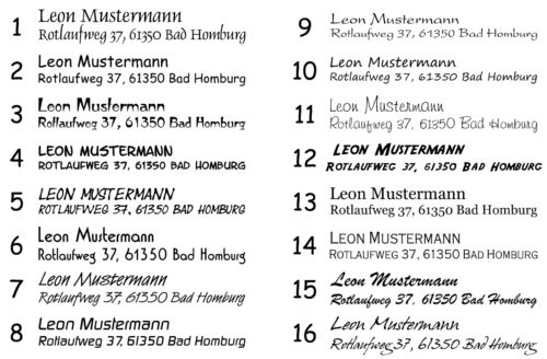 Ex Libris Colop Printer Stempel Name rund Ø 40 mm Motiv Dieses gehört Buch 1