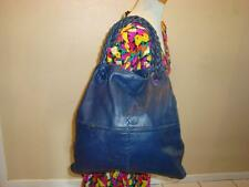 Blue Leather Bottega Veneta Tote/Shoulder Bag