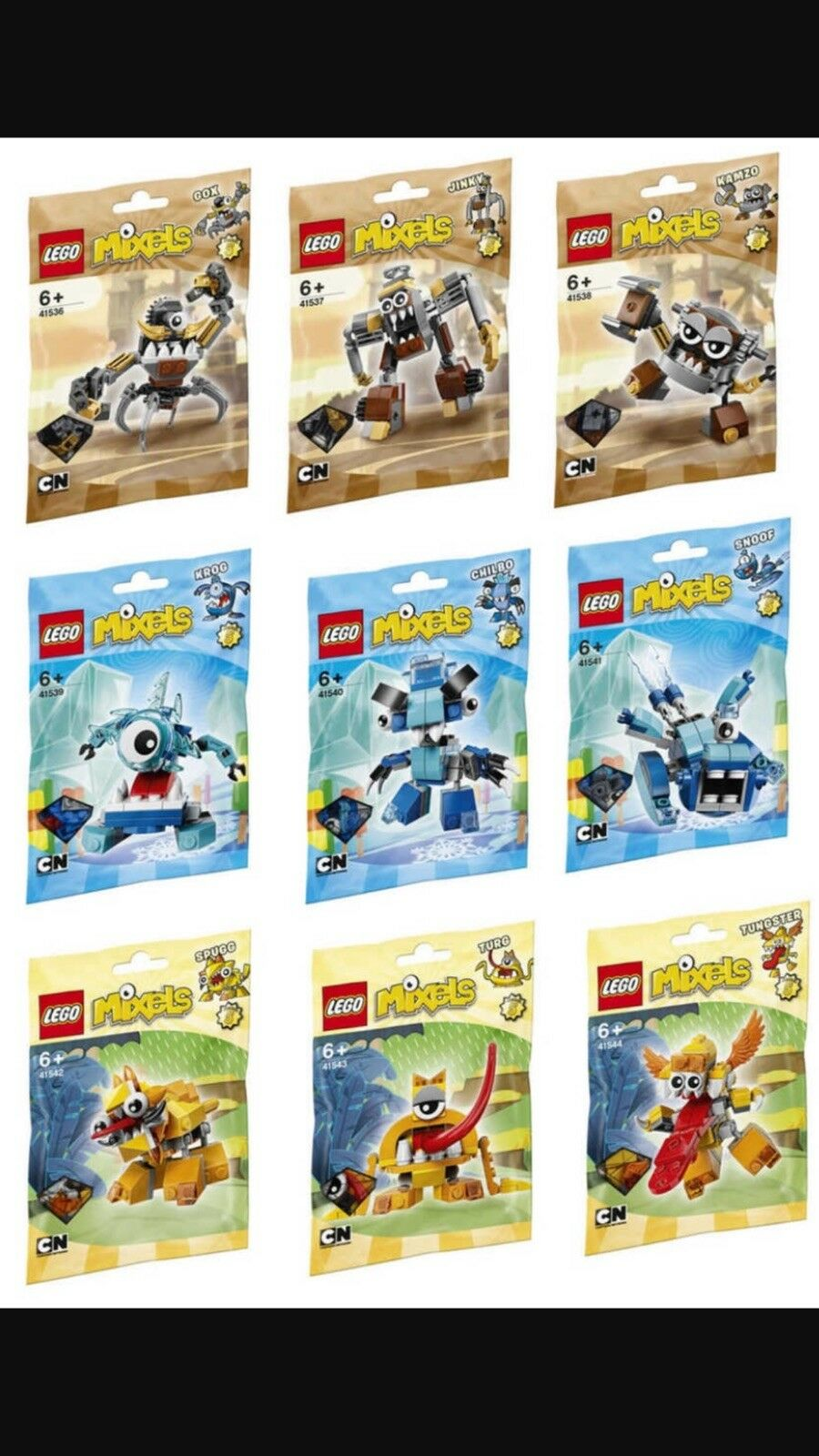 Lego Lego Lego Mixels Series 5 Complete Set abe554