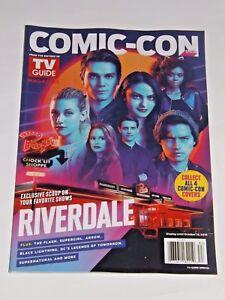 Sdcc 2018 Exclusive Tv Guide Magazine Riverdale Cover Comic Con Ebay