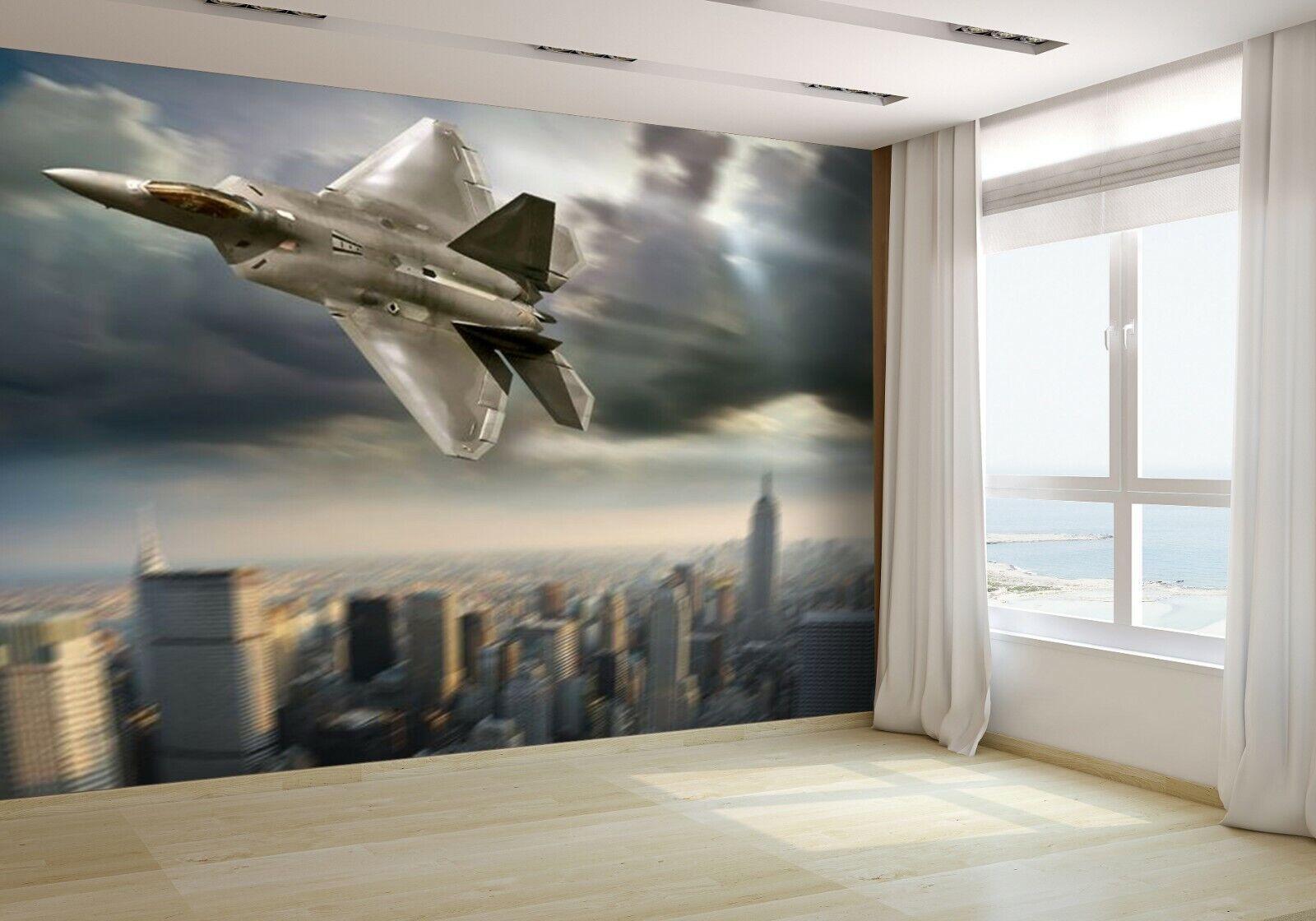 Jet fighter Wallpaper Mural Photo 12885106 budget paper