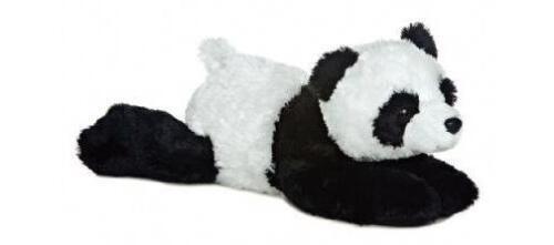 "POLAR BEAR /& NI HAO PANDA Flopsie 12/"" Stuffed Animal Plush by Aurora"