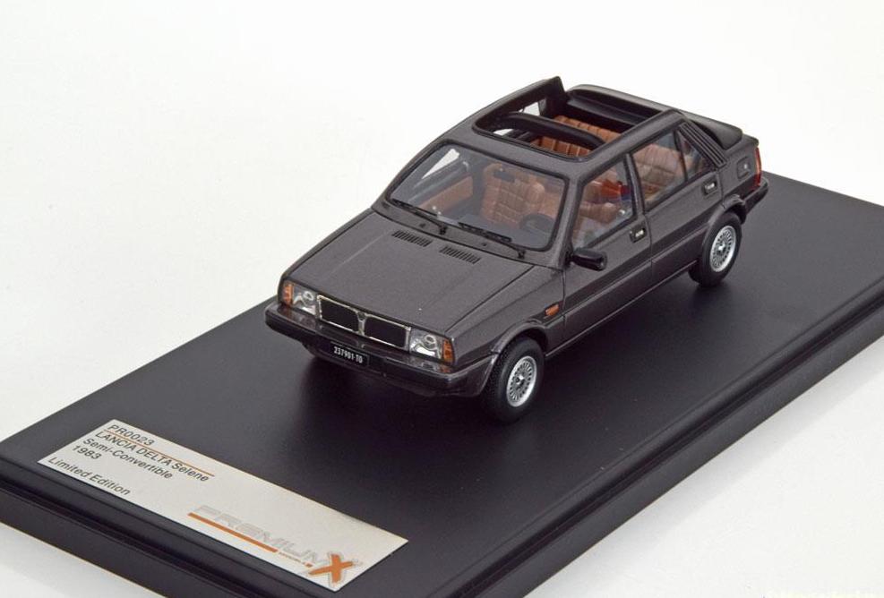 Lancia Delta Selene Semi-Convertible 1983 Dark gris 1 43 PRD0023 PremiumX