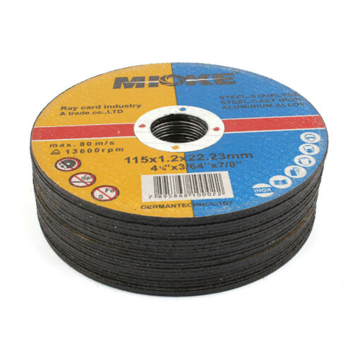 20PCs Resin Cutting Disc Blade For Angle Grinder Metal Cut Off Wheel 4-1//2 Inch
