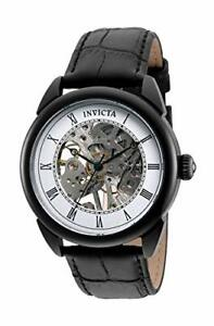 Invicta Men's 32633 Specialty Mechanical 3 Hand Black Dial Watch