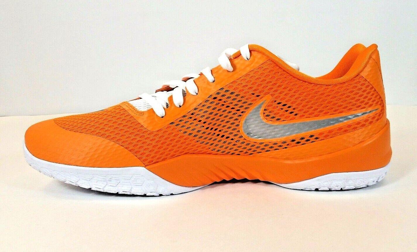 separation shoes b046d 9225b ... Nike Hyper Live Basketball Low Sneakers Orange Sz 18 18 18 c7541c