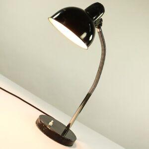 Kaiser-Idell-Arbeits-Leuchte-Schwanenhals-Tisch-Lampe-6561-Vintage-Bauhaus-30er