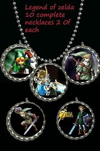 Legend-of-zelda-lot-of-10-necklaces-necklace-loot-bag-party-favors-birthday