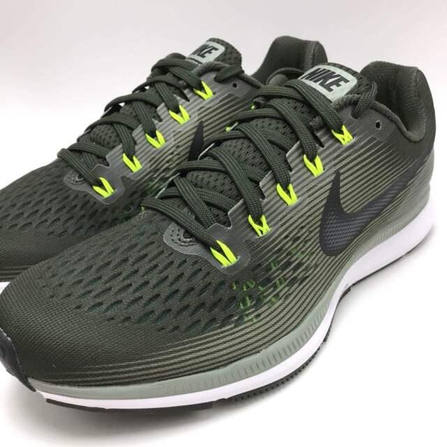 brand new 2cfc1 5c996 Men Nike Air Zoom Pegasus 34 Running Shoe Sequoia/black 880555-302 Sz 10