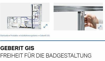Geberit GIS Installationssystem Zubehör