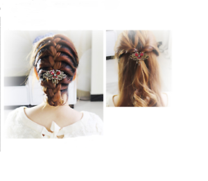 Damen-accessoires Haar Clips Haarspange Barrette Für Frauen Mädchen Kristall Schmetterling Waren Des TäGlichen Bedarfs Haarschmuck
