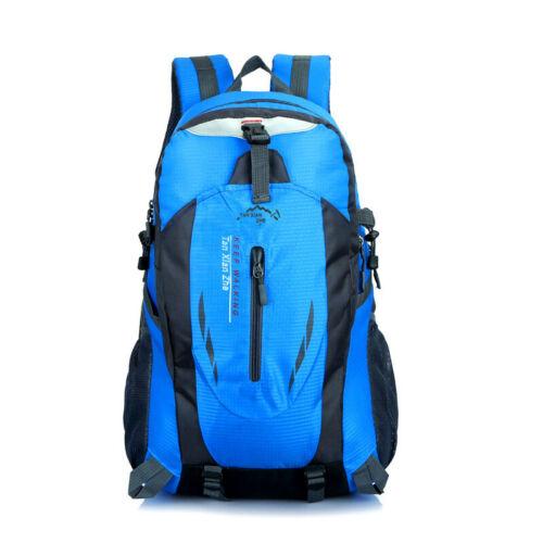 Large Sport Travel Rucksack Hiking Camping Climbing Tactical Backpack Outdoor UK