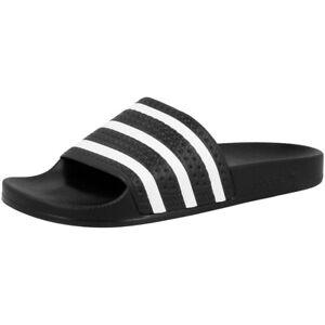 Negro de Sandalias Chanclas Detalles Blanco Adidas Zapatillas Adilette 280647 3AL54Rj