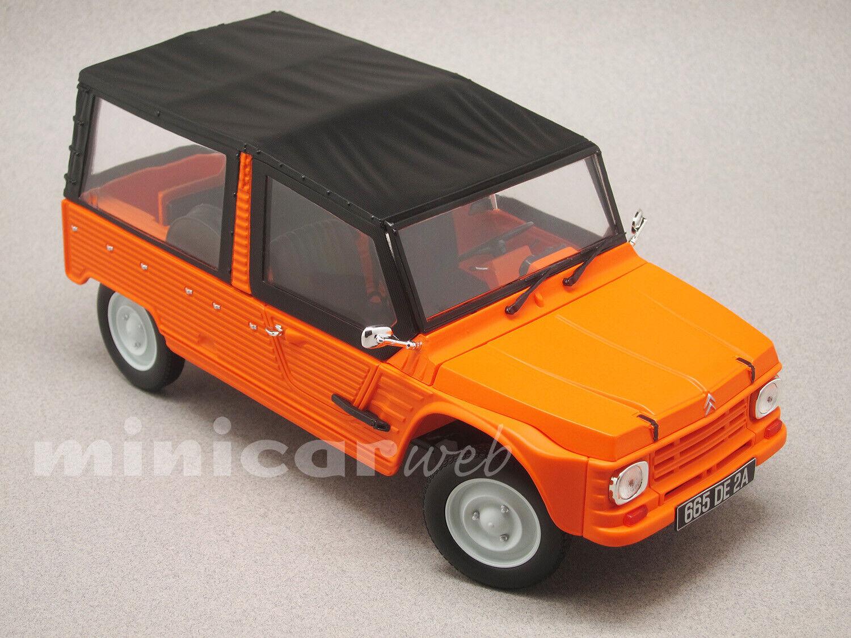 CITROEN MEHARI Orange, voiture miniature 1 18e NOREV 181515