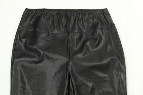 Leatherette Dimensioni Black Women's dettaglio Ralph Leggings Lauren 14w BxfqSEX