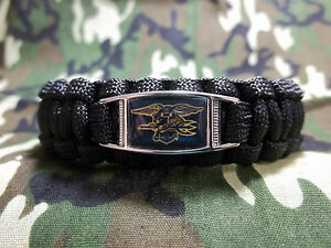 Image Is Loading Custom U S Navy Seals Black Ops 550 Paracord