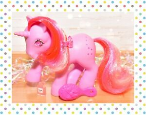 ❤️My Little Pony MLP G1 VTG Galaxy Gem Twinkle Eye Pink Stars Unicorn 1985❤️