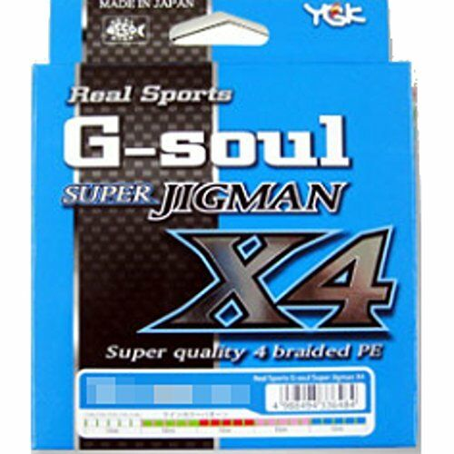 Kb10 YGK Real Sports G-soul  SUPER JIGMAN X4 PE Line JAPAN 300M lb  promotional items