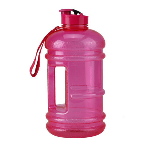 2.2L Big Large BPA Free Sport Water Bottle Gym Training Camping Drink Kettle
