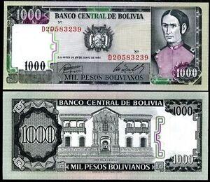 Bolivia-1000-bolivianos-1982-p-167-unc