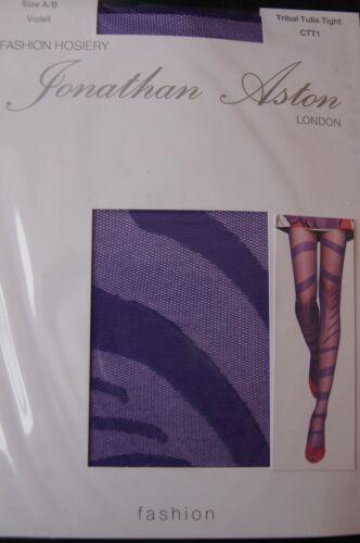 "Jonathan Aston Violet /""Tribal/"" Tulle Tights"