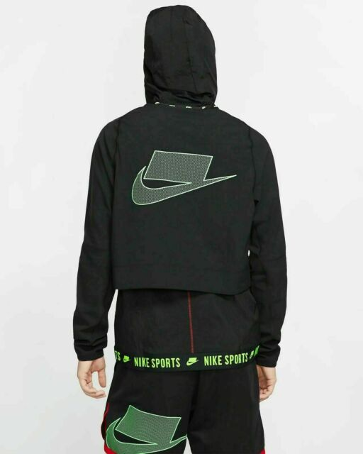 lifetime Than Labe  Nike Training Jacket Mens 800235-010 Black White Spell out Hooded Size 3xl  for sale online | eBay