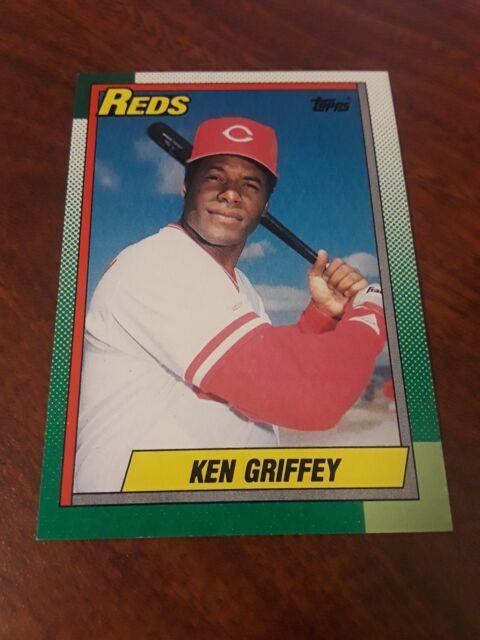 1990 Topps Ken Griffey Cincinnati Reds 581 Baseball Card