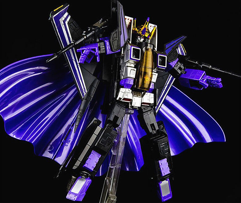 KBB Transformers G1 MP-11SW Skywarp 9 inches Toy Action Figure Nuovo in Box