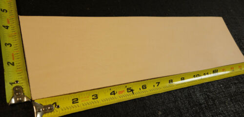 "Qlty Tooling Leather Piece 1st 16/"" x 4.5/"" Vegetable Tanned Cowhide 2 to 3 oz"